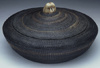 A very large Inupiat, baleen basket by Joshua Sakeagak
