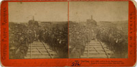 The Last Rail is Laid, Promontory, May 10, 1869