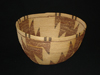 A Kawaiisu polychrome flame bowl
