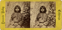 Paiute Indian Boy, Yosemite Valley
