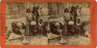 Washoe Indians At Lake Tahoe, Cheifs Family