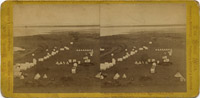 Panorama of Lavabeds from Signal Station, Tule Lake Camp