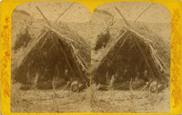 Paiute Indians, Resting, Nevada