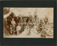 Foresthill, Ca. Miners at The Mine