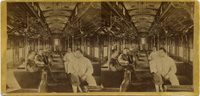 Governor Leland Stanford in C.P.R.R sleeping car