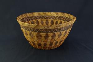 A Remarkable Chumash Polychrome Fancy Basket