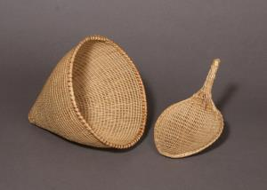 Seed Beater and Burden Basket