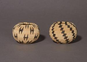 Two Miniature Degikup Baskets