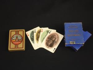Set of Fred Harvey playing cards