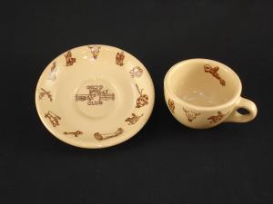 George's Gateway cup and saucer