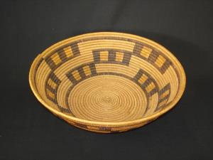 A Mission bowl with stair step design