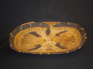 A Mission Cahuilla snake tray