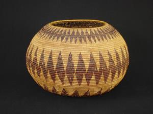 A very rare older Patwin treasure basket