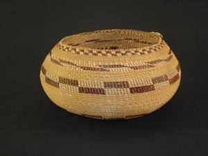 A very Special and Fine Pomo degikup shaped basket