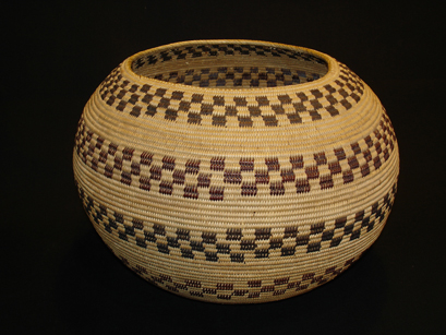 Mono Lake Paiute basket