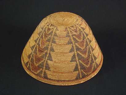 A rare and early Tubatulabal ceremonial hat